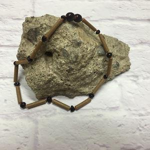 """12"""" Hazelwood & Baltic Amber Necklace"""